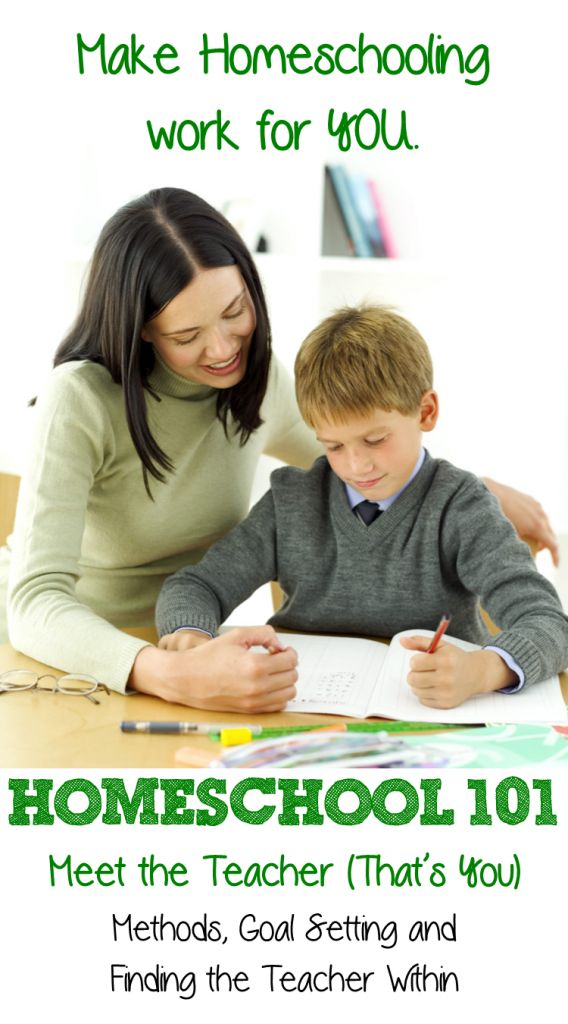 Homeschool 101: Meet the Teacher (That's YOU ...