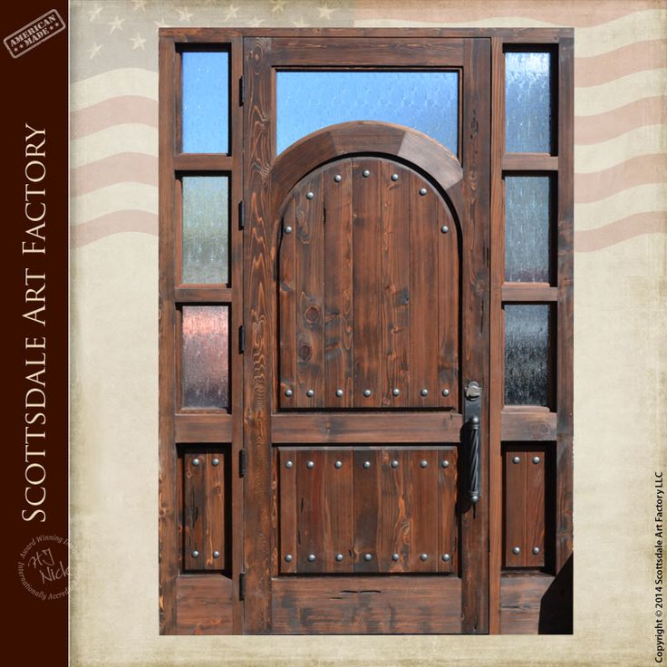 Wood And Iron Front Doors: 193 Best Images About Hand Crafted Doors On Pinterest