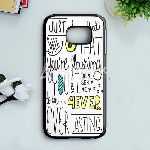 Emblem3 Chloe Lyric Cover Samsung Galaxy S7 Case | armeyla.com