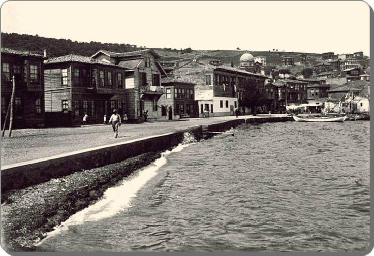 İstanbul - Burgaz ada - kıyı - 1930 lar