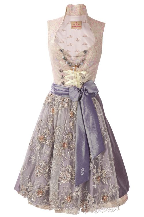 Dirndl Couture rosa