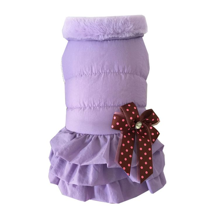 2016 Winter Warm Pet Dog Dress Tutu Skirt Fur Collar Bowknot Cute Princess Wedding Party Dress Cat  Puppy Clothes // FREE Shipping //     Buy one here---> https://thepetscastle.com/2016-winter-warm-pet-dog-dress-tutu-skirt-fur-collar-bowknot-cute-princess-wedding-party-dress-cat-puppy-clothes/    #catoftheday #kittens #ilovemycat #lovedogs #pup