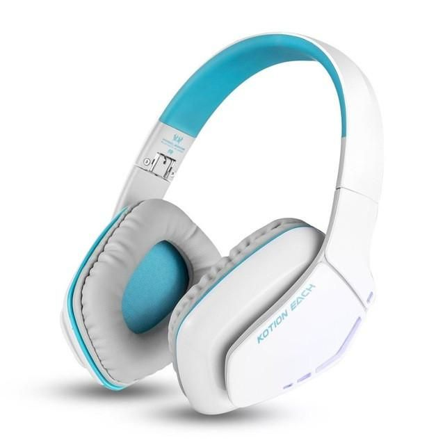 Kotion EACH B3506 Foldable Wireless Bluetooth Headphones casque Hifi Bass Stereo Headset with Mic for Phone PS4 Tablet PC Gamer