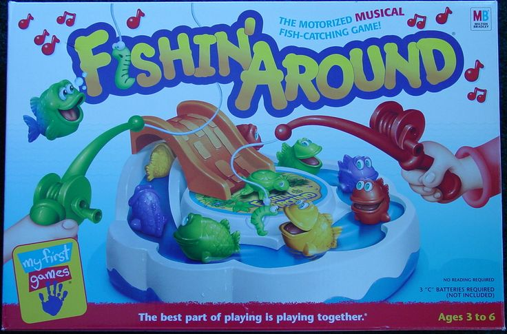 Fishin' Around Board games, Fishin, I am game