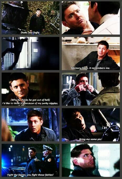 Dean Winchester at his finest
