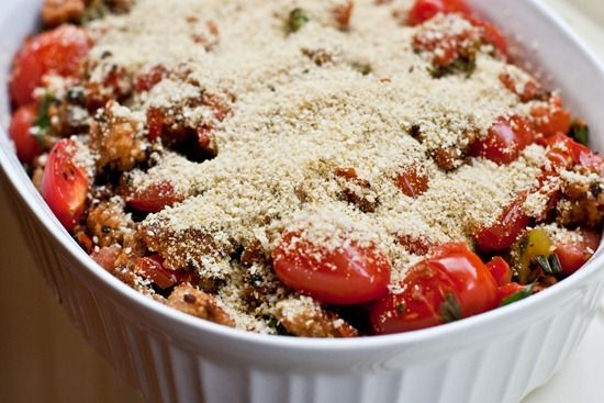 ... Tomatoes Recipe, Vegan Recipe, Vegan Basil, Scallops Tomatoes, Img