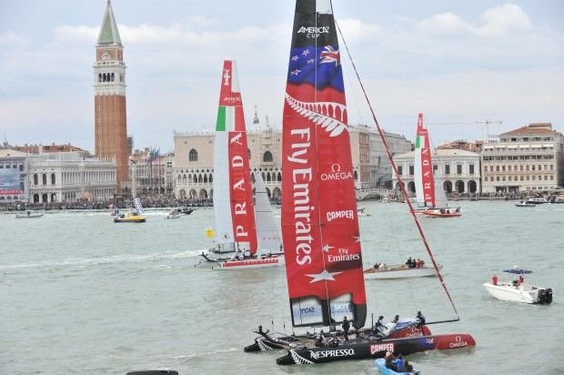 America's Cup in Venice (Piazza San Marco) !!