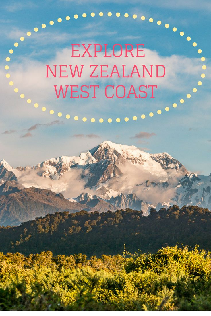 How to spend a weekend in Franz Josef, at the New Zealand West Coast. Get ready for glaciers, mountains, lakes and beaches!