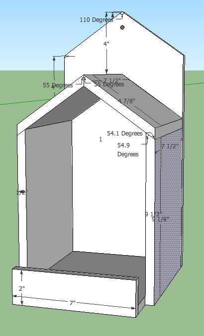 25+ best Bird house plans ideas on Pinterest   Diy birdhouse ...