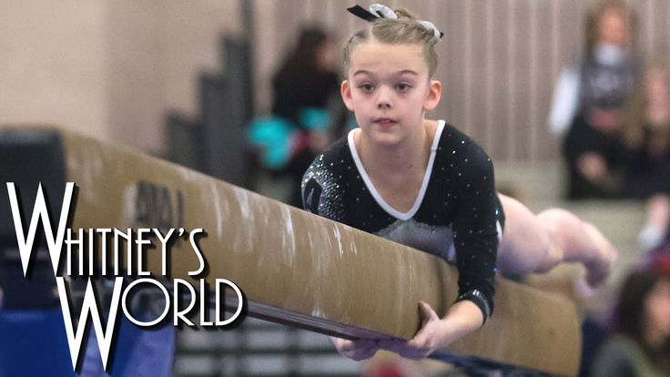 whitneys first gymnastics meet