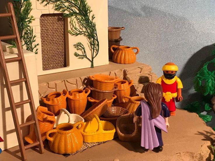 Vendedor de cestas