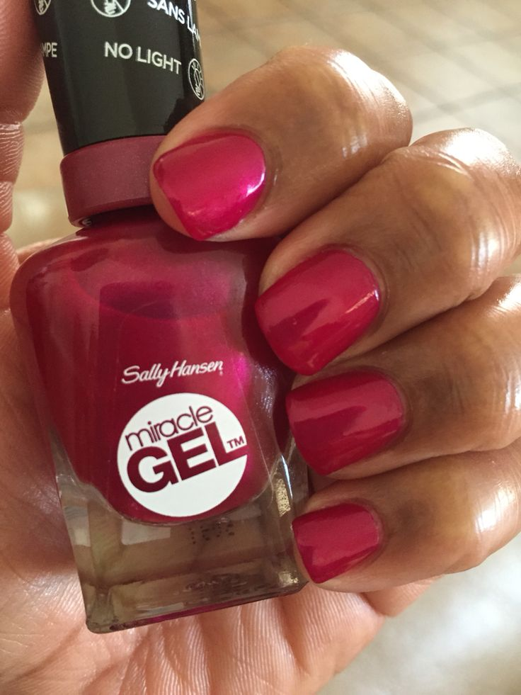 Sally Hansen Miracle Gel in 500 Mad Women. I love this polish!!