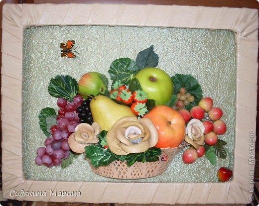 Картины овощи фрукты своими руками