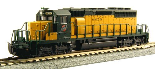 Locomotive  Kato USA Model Train Products 6858 N EMD SD402 Early Chicago and North Western Train *** Check out this great product.