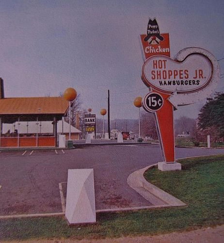 Wheaton Md 1960 Md238 Hot Shoppes Jr My Home Town