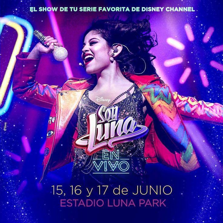 """""""Soy Luna En Vivo"""" - Elenco Fará Shows em Buenos Aires em 2018!!!"""