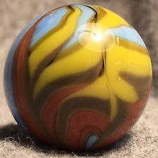 """Christensen Agate Company Amazing Flame. Approximately 3/4"""""""