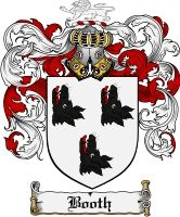 Booth Coat of Arms / Booth Family Crest