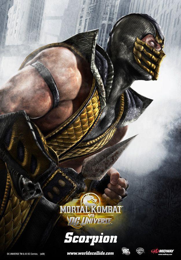 Mortal Kombat vs. DC Universe - Scorpion - Poster