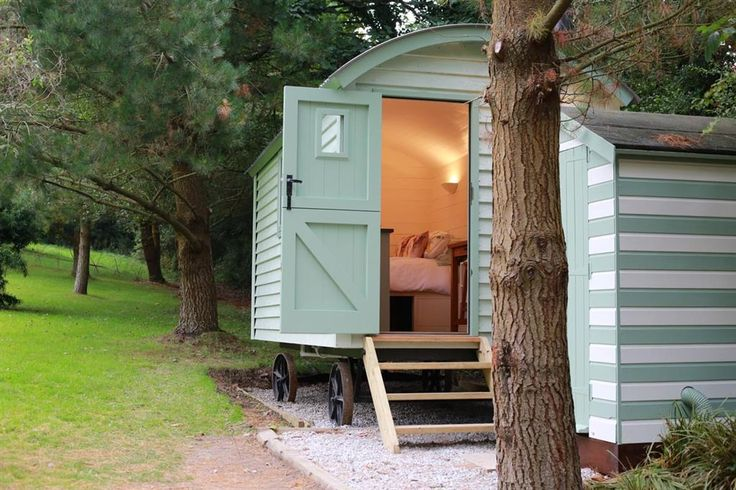 Melody Farm Shepherds Huts, Carnon Downs, Truro, Cornwall. England. UK. Travel. Accommodation. Romantic. Glamping. Rural.