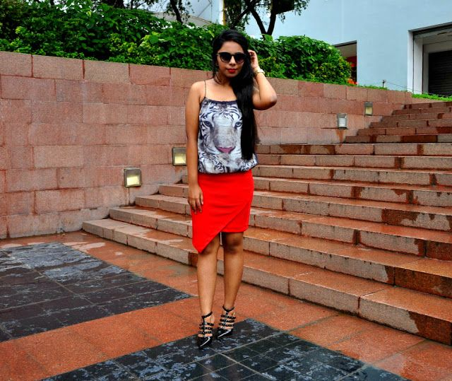 The Broke Chica: Fearless in Red!