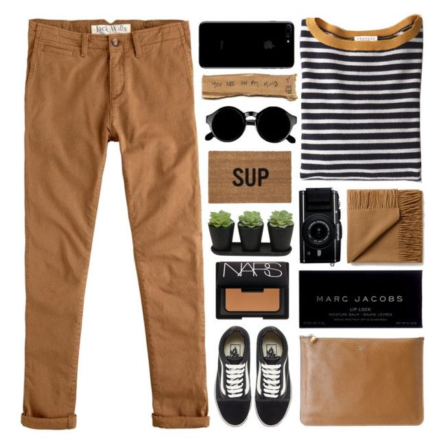 """""""SOMEBODY TO YOU"""" by lookssogood ❤ liked on Polyvore featuring Demylee, Jack Wills, Marc Jacobs, Alexander McQueen, Vans, NARS Cosmetics, Retrò, Reed Wilson Design, outfit and black"""