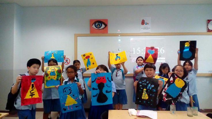 Artist : Joan Miro @Binus International School Simprug