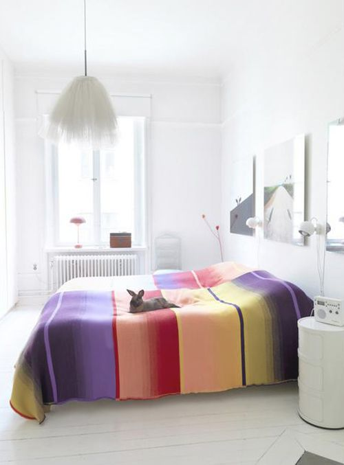 White Bedroom With Pop Of Color 78 best style trend: colour pop images on pinterest | home, spaces