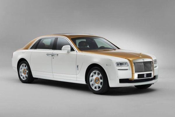 The 2013 Rolls-Royce Ghost Golden Sunbird is a one-off custom vehicle that honors an ancient Chinese symbol, the company said.
