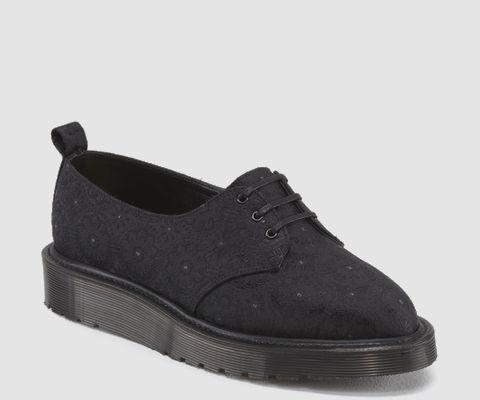 Des Bottes Et Des Bretelles - Chaussures Végétariens (vegi) 3-trou Noir - Noir, Taille: 44