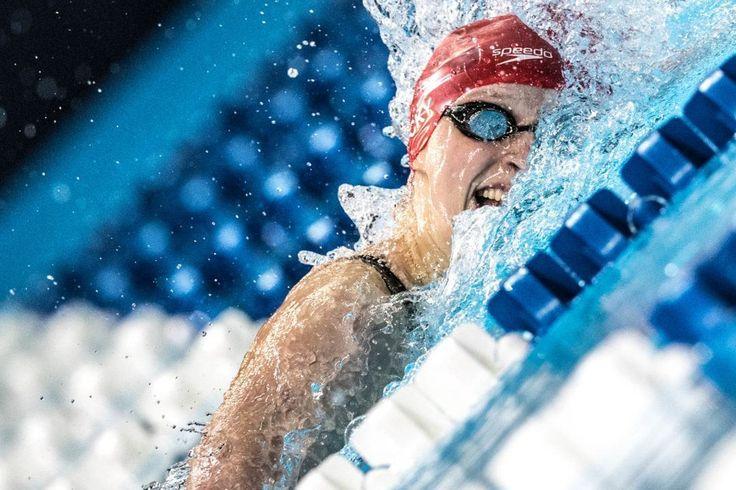 Watch: Katie Ledecky Set NCAA Record in 1000 Free (Full Race)