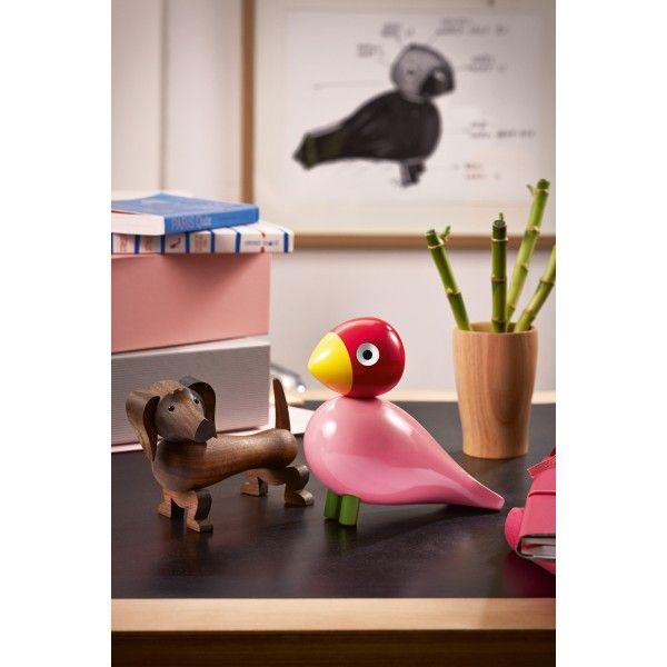 Kay Bojesen Songbird Ruth speelgoed. Wat een kleurrijke vogel! @kaybojesen #speelgoed #houtenspeelgoed #design #Flinders