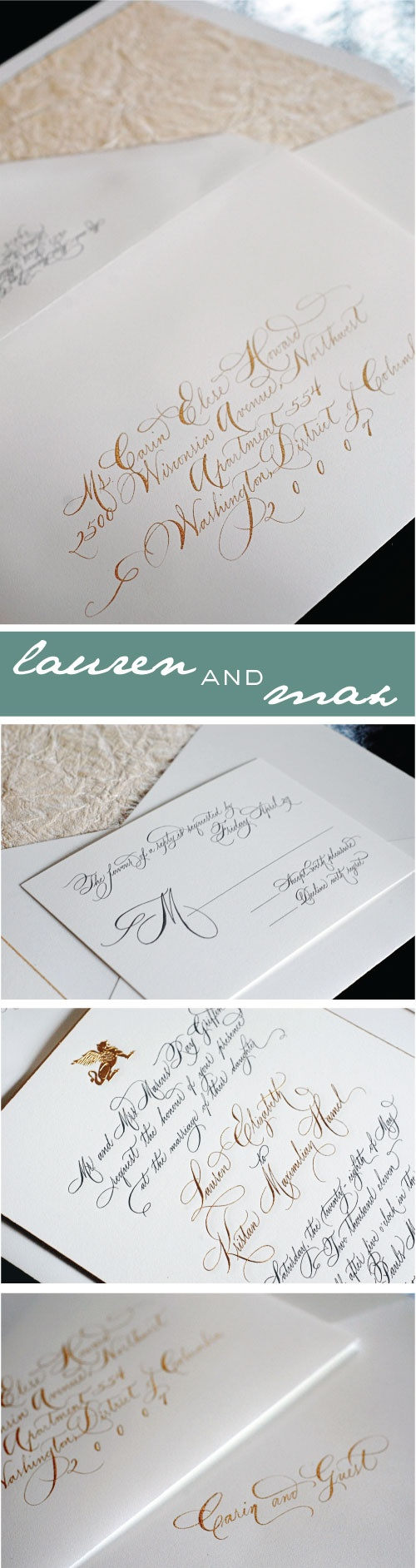 sample wedding invitation letter for uk visa%0A Haute Papier    Real Weddings    InvitesWedding InvitationsMasquerade Wedding
