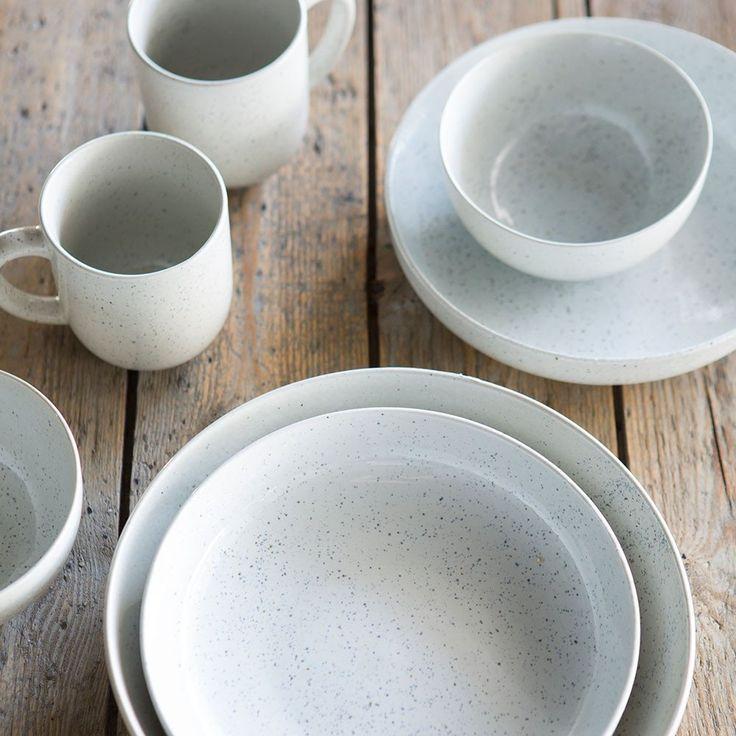 Speckle dinnerware | Aquitaine | Coastal Home | Coastal Homewares | Dinnerware | Homewares | Tara Dennis Homewares