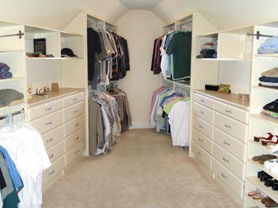 Closet dormer ideas pinterest walk in closet attic for Cape cod closets