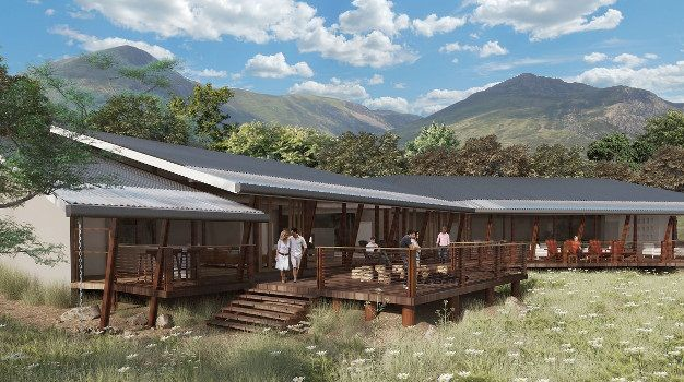 Hluhluwe-iMfolozi Reserve in KwaZulu-Natal will open the first eco-friendly luxury private lodge right in the heart of the reserve's Big 5 territory.