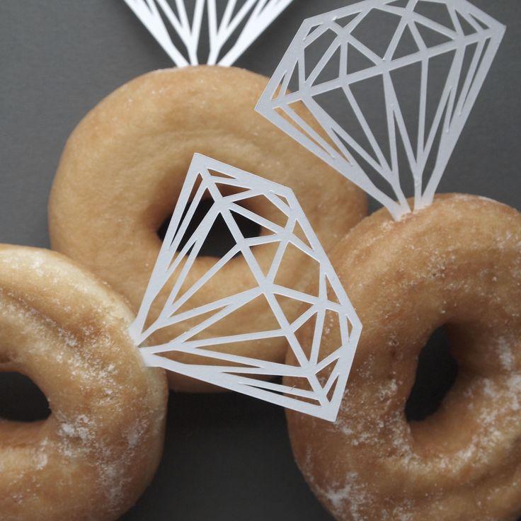 paper donut decor