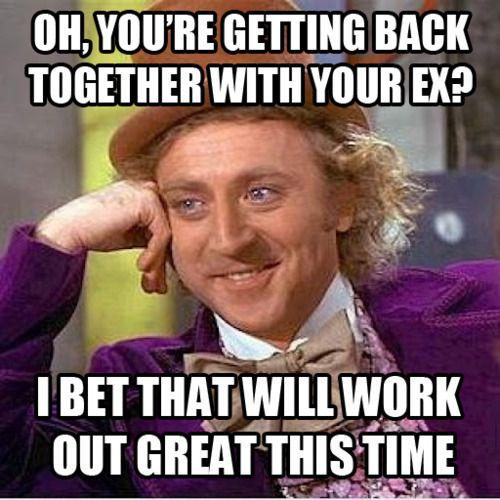 hhahahahahahahaha theres a reason they are an ex: