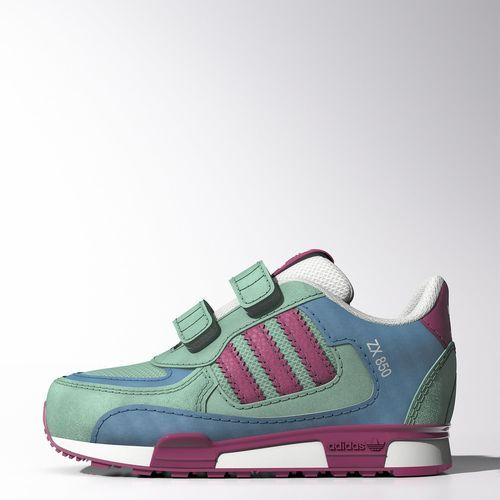 adidas zx 700 trainers pink /white wildflowers bouquet line