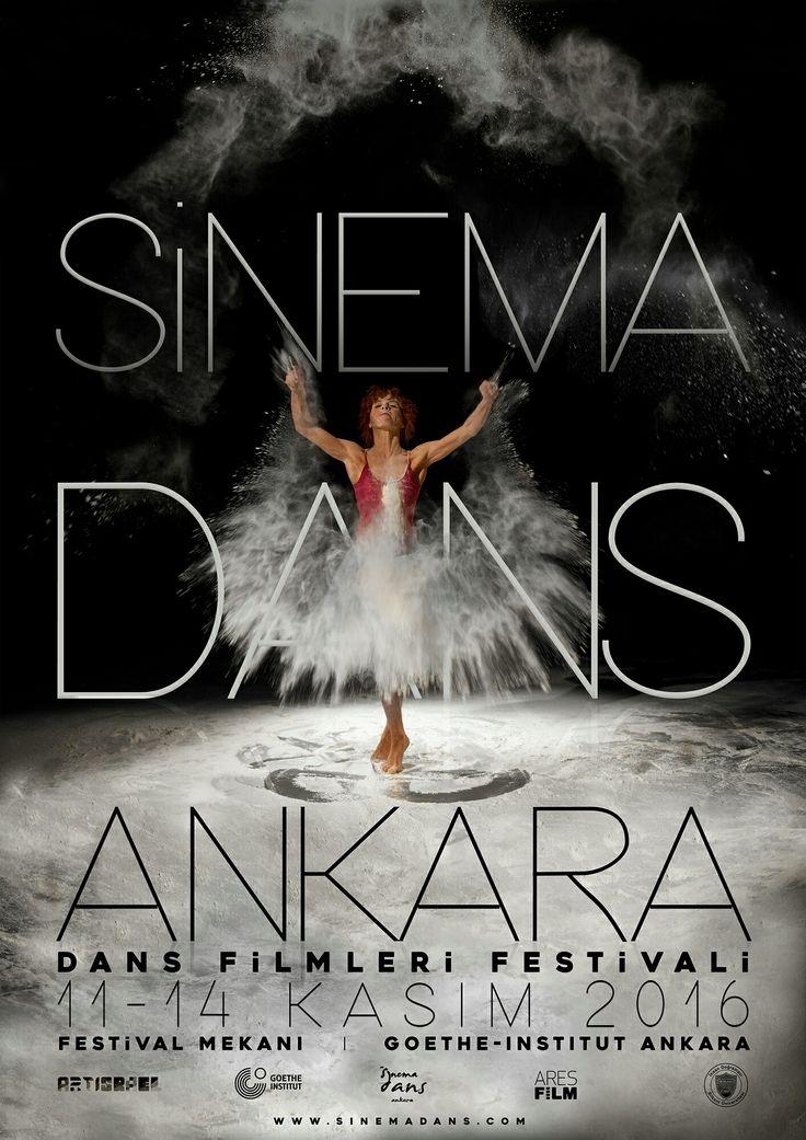 poster design for sinema dans ankara