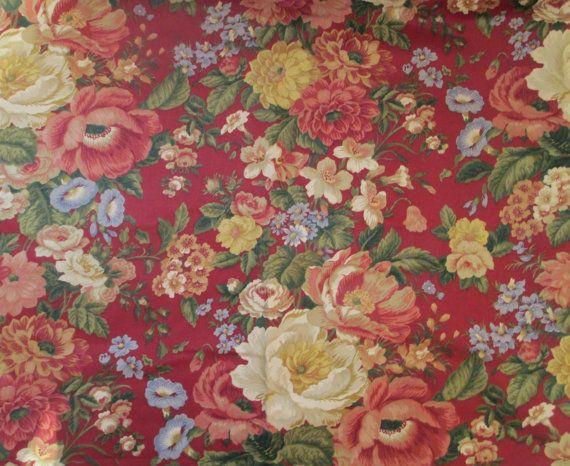 Waverly Fabric Villa Carlotta Waverly Fabric Cotton