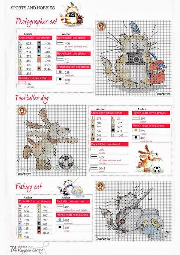 Sports & Hobbies by Margaret Sherry The Best of Margaret Sherry Book & CrossStitcher Issue 224