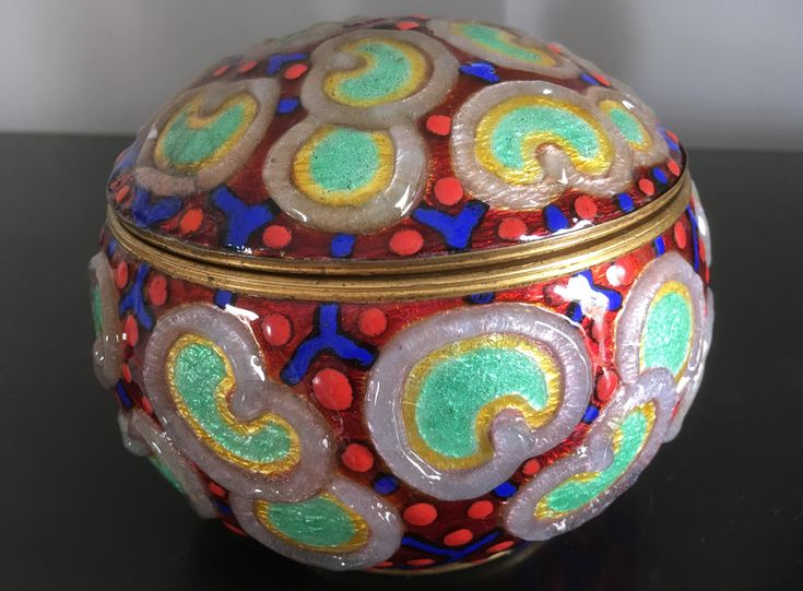 20th century Camille Fauré (Limoges 1874 – 1956) enamelled objects Archives - Page 2 of 13 - Ralph Gierhards