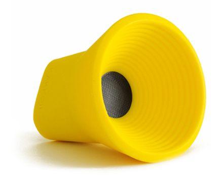 Wow Bluetooth Speaker Yellow