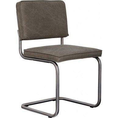 Zuiver stoel Ridge Vintage Brushed - Groen - DesignOnline24.nl - NIEUW