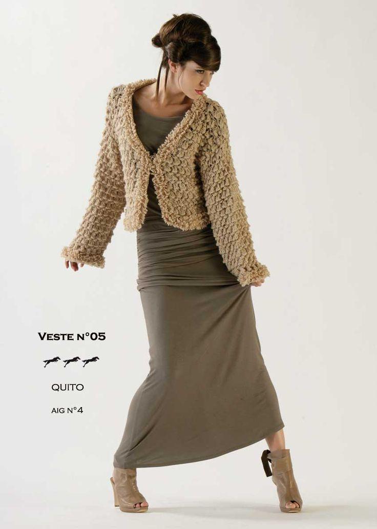 mod le de tricot veste femme catalogue cheval blanc n 11 laine utilis e quito lainage. Black Bedroom Furniture Sets. Home Design Ideas