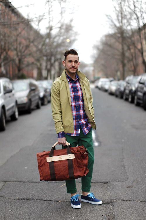 ブルゾン スタイル   メンズファッションスナップ フリーク 男の着こなし術は見て学べ。