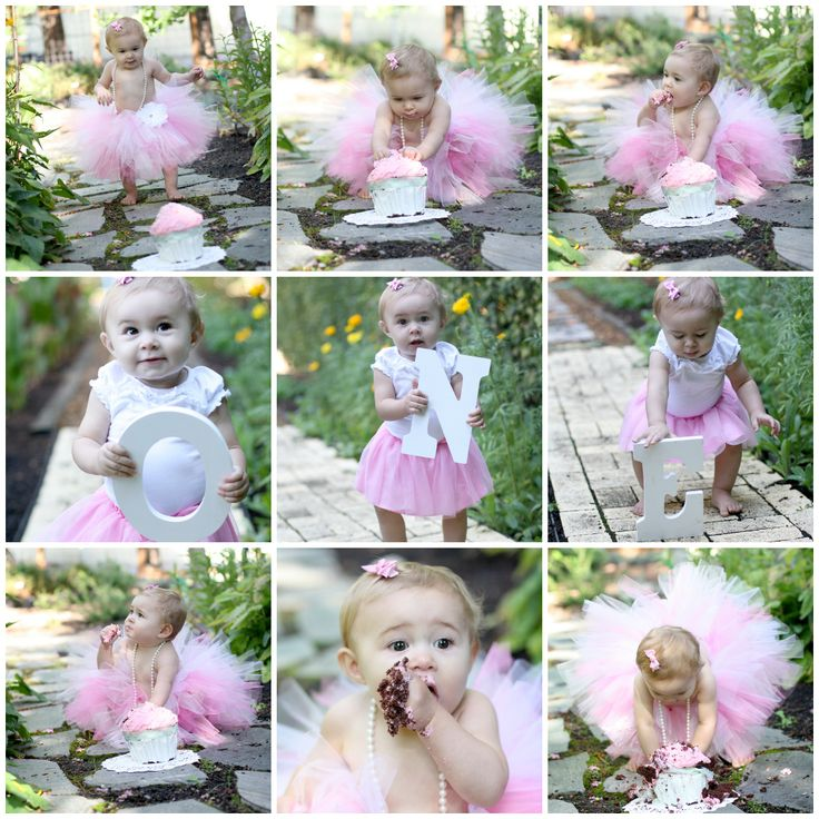 My baby girl's 1st birthday photos