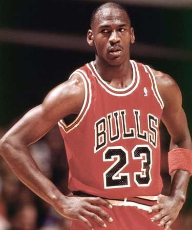 had #23 for most of my jerseys growing-- MJ always be #1 of all time