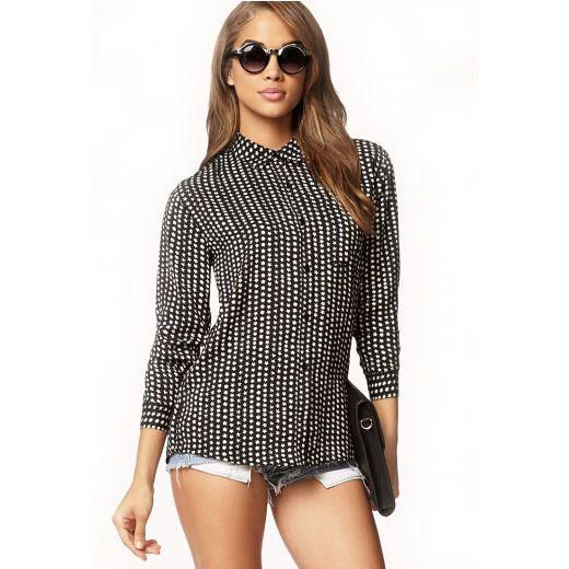 Брендовая рубашка FOREVER 21 для девушки Цена: 257 грн #fashion #style #look #SUNDUK #sale #like #follow #girl #men #shop #amazing #hot #bestoftheday #shirt #FOREVER21